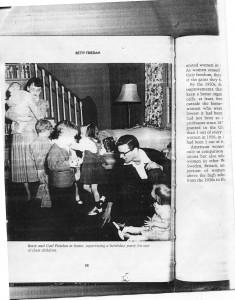 Betty Friedan at Home