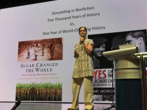 Author and Speaker Marina Budhos - Singapore Writers Festival
