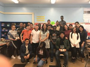 Author and Speaker Marina Budhos - Bronx International High School